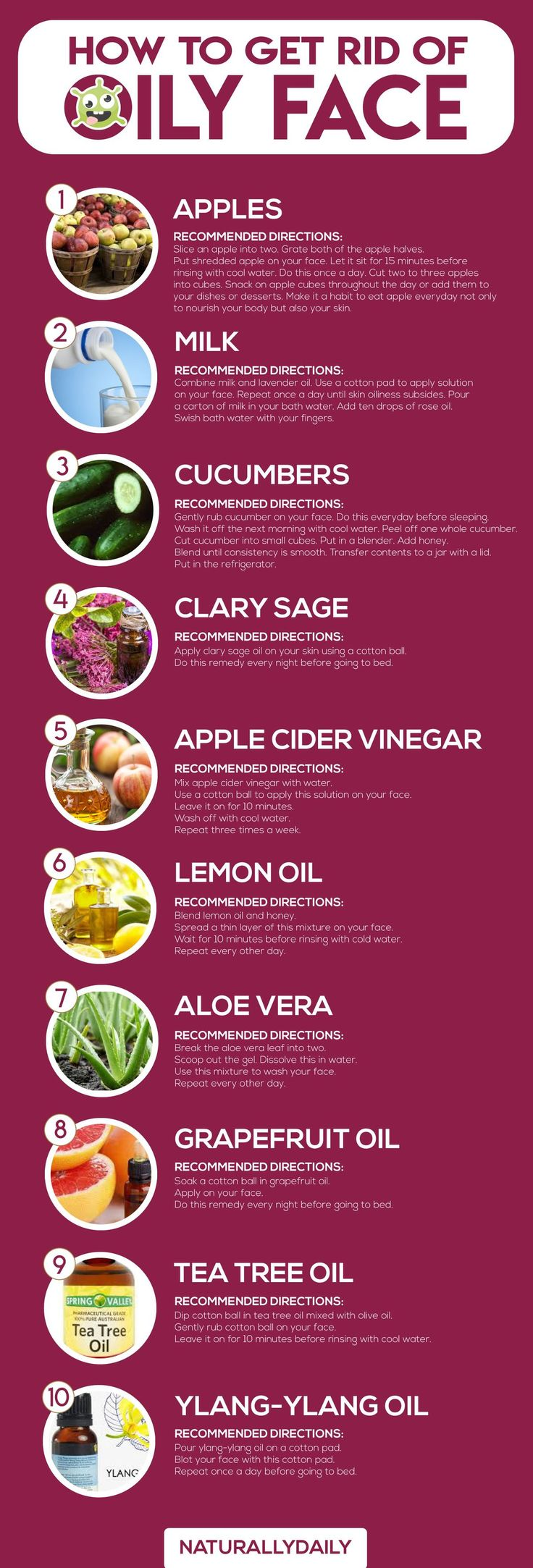 How to Get Rid of Oily Face 10 Best Home Remedies