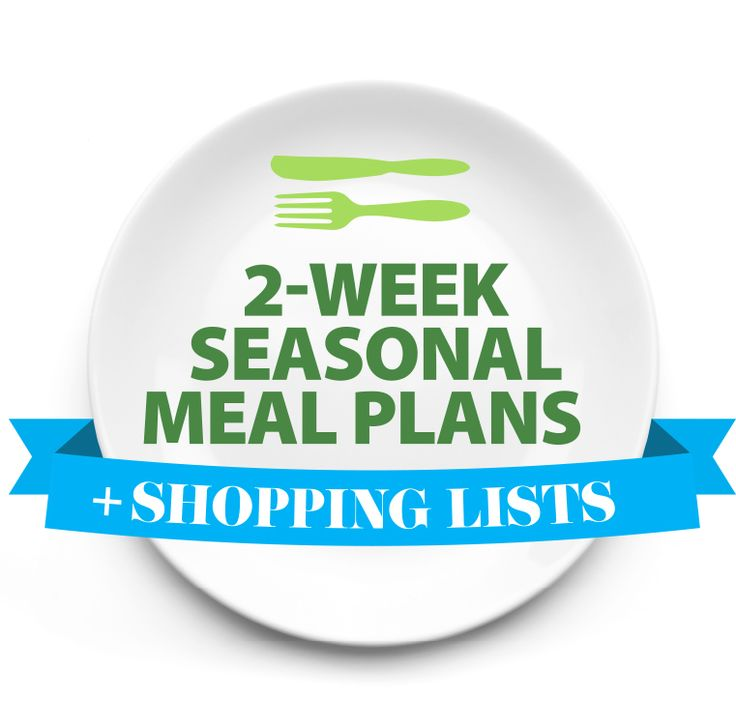Clean Eating Meal Plans & Shopping Lists for 2 weeks (one person, looks expensive, good starting point though)