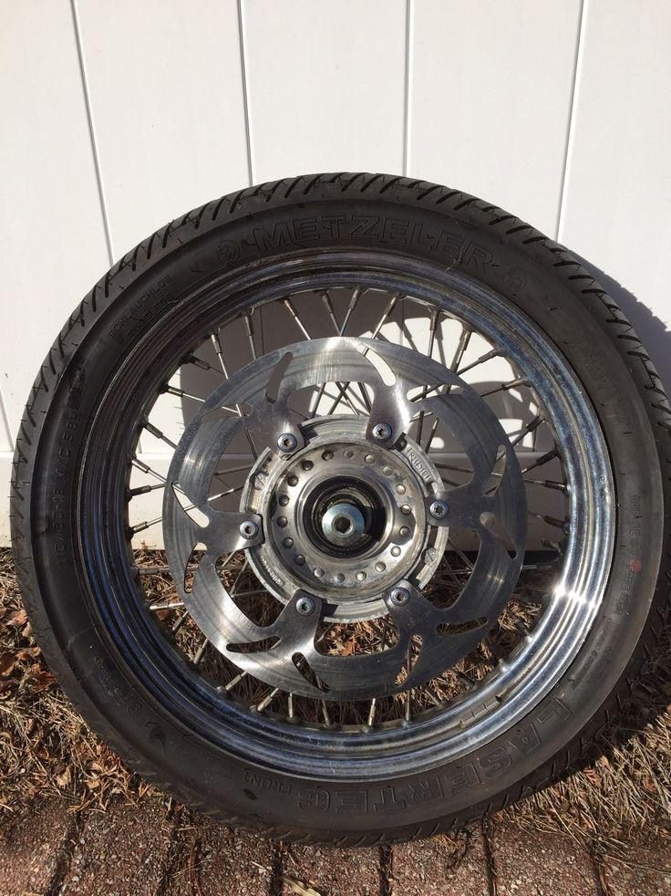 http://motorcyclespareparts.net/1995-2004-triumph-thunderbird-900-front-wheel-18x2-5/1995-2004 #Triumph Thunderbird 900 Front Wheel 18x2.5