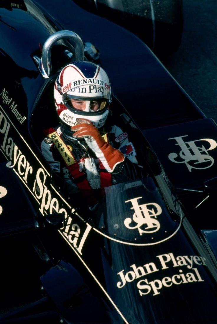 Nigel Mansell @ European Grand Prix, Brands Hatch 1983