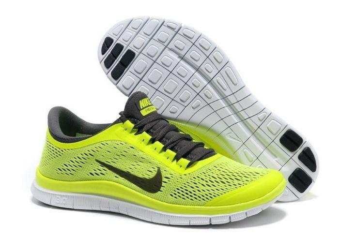 new style 07718 d7edf ... clearance nike free 3.0 v5 heren volt donker grijs wit sneakers. 71b59  da940