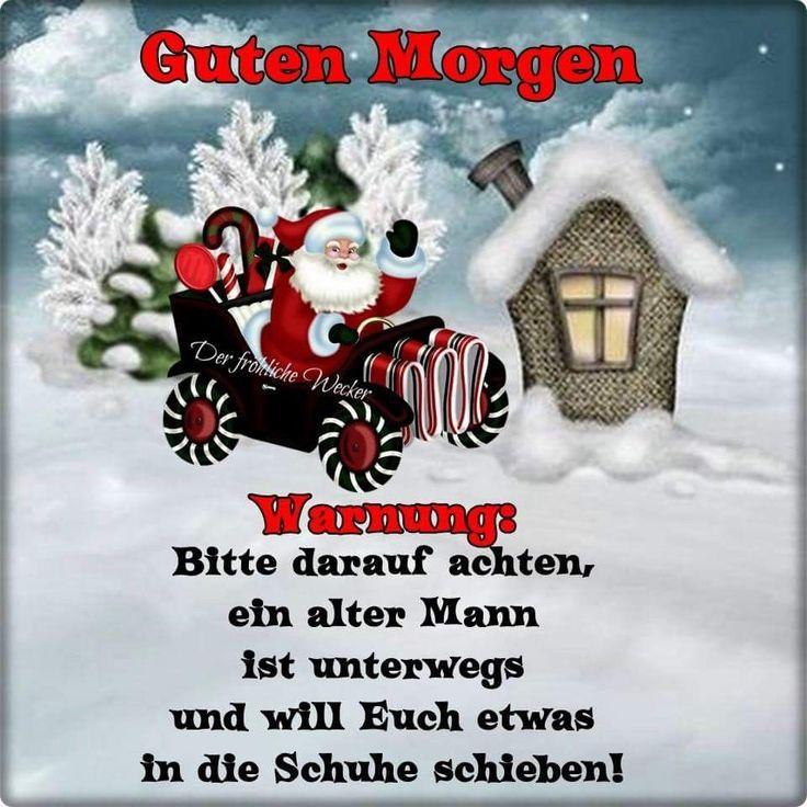 Guten Morgen Weihnachten Lustig