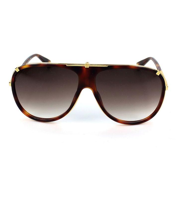 MARC JACOBS-MJ-306-S-001JS Brown Non Metal Designer UV Protection Sunglasses For Men