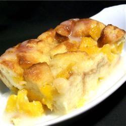 Mango Bread Pudding Allrecipes.com | sándwich y algo más Mm ...