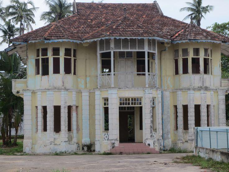 Siirtomaa-ajan talo Kelbangin alueella, Malesian Melakassa