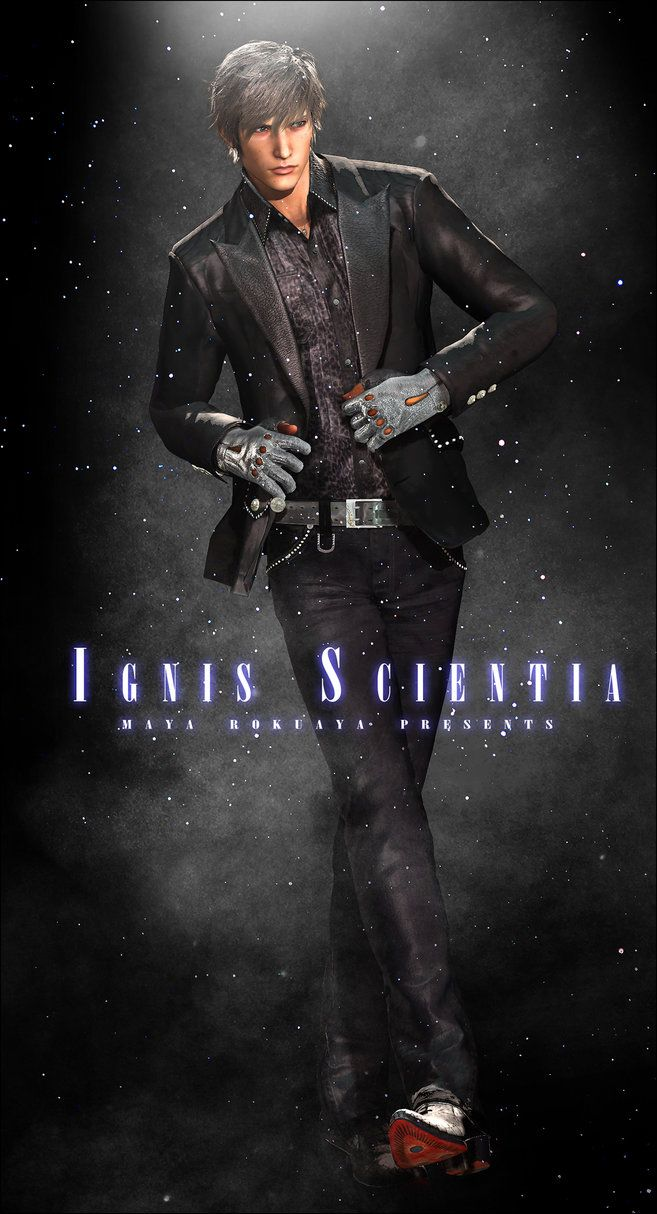 Final Fantasy XV FF15 Ignis Scientia Cosplay Costume All Size Game Costume