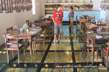Fyndraai Restaurant at Solms Delta Wine Estate, Franschhoek. What a name!