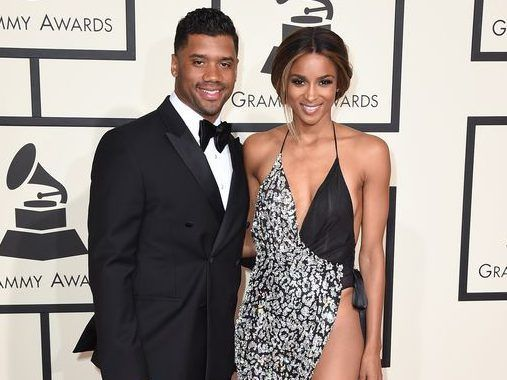 Ciara strips down for sexy photoshoot with husband Russell Wilson