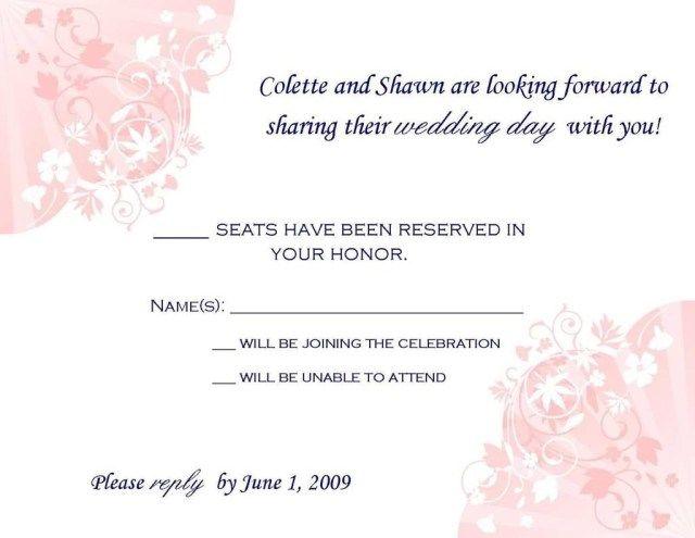 27 Pretty Picture Of Wedding Invitation Rsvp Wording Regiosfera Com Wedding Invitation Rsvp Wording Wedding Invitations Rsvp Cards Creative Wedding Invitations