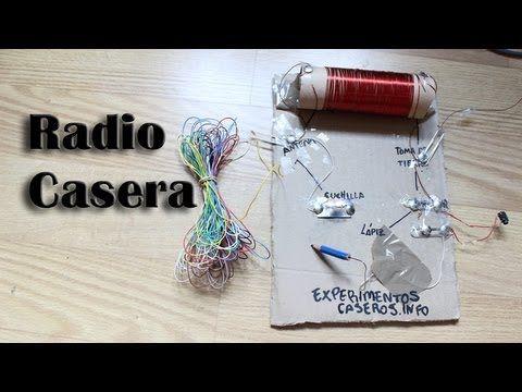 Cómo hacer una radio casera (sin pilas) (Experimentos Caseros) - YouTube