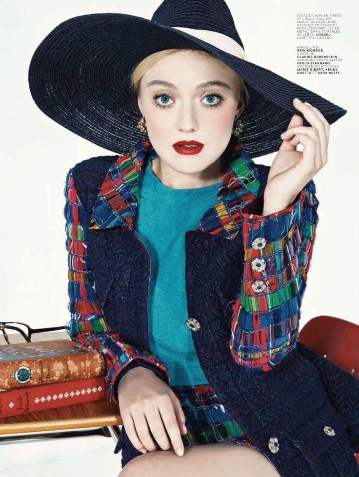 Dakota Fanning - Jalouse Magazine