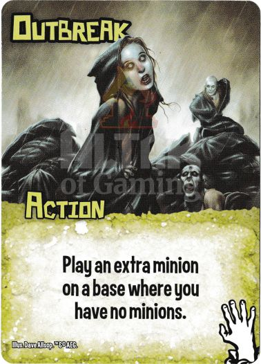 Outbreak - Zombies - Smash Up Card   Altar of Gaming