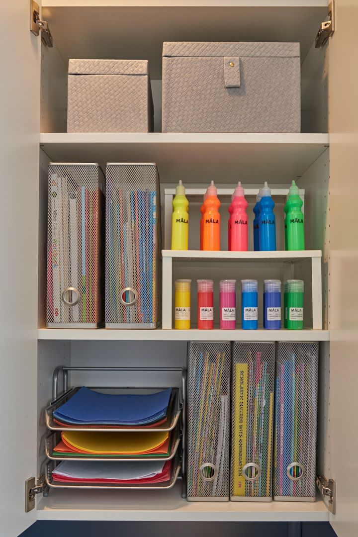 Modern Mesh Racks And Trays Are Ideal For Storing Magazines And Files Coordinating Soft Gr Office Storage Solutions Ikea Storage Solutions Home Office Storage