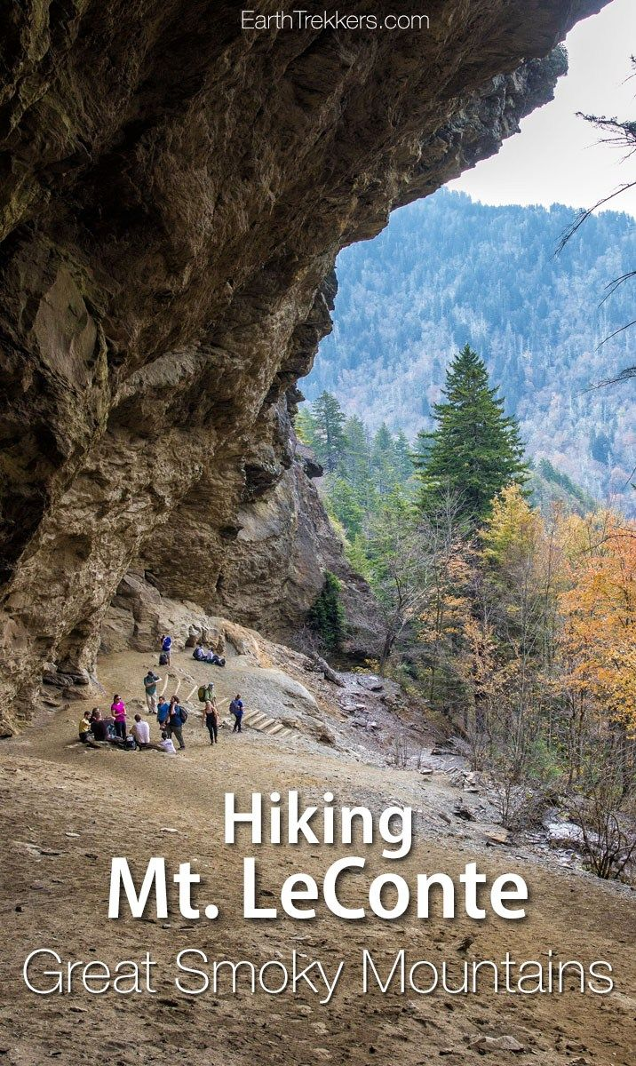 Hike Mt LeConte and Alum Cave in Great Smoky Mountains National Park