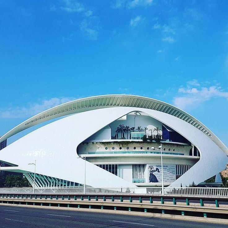 Eye of culture. #architecture #Valencia #Spain