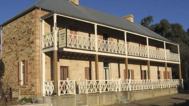Bridge View Inn, Rylstone. EVERY old building has its secrets. But the Bridge View Inn in Rylstone, near Mudgee, has a spectacular one that may well make some of the older residents a tad uneasy.