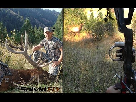 Incredible Self-Filmed Idaho Archery Elk Hunt [VIDEO]