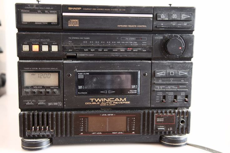 Details about Vintage SHARP Compact Disc Stereo Music ...