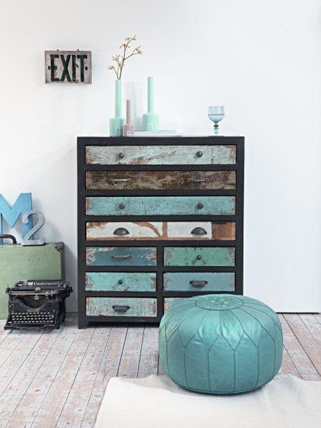 Dépareiller les poignées du meuble pour un effet garantie!