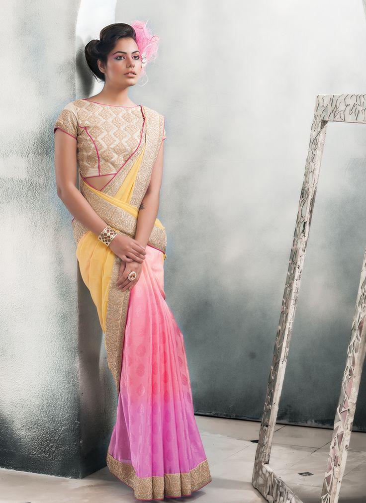 Multi Colour Bulk Designer Saree With Lace Border Work