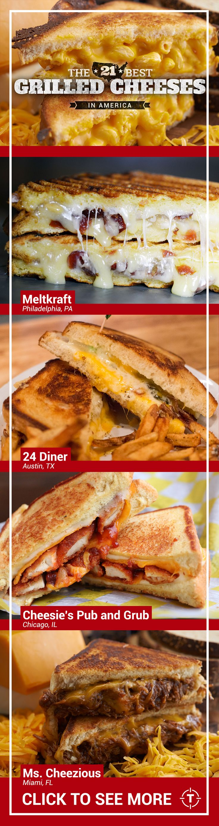 "And no, your mom's ""almost famous"" grilled cheese didn't make the list. Sorry."