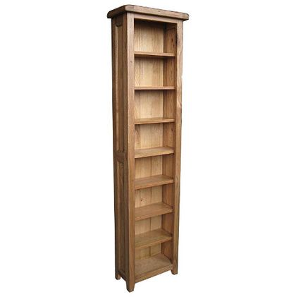 Vermont Rustic CD/DVD Bookcase, Conway Furniture