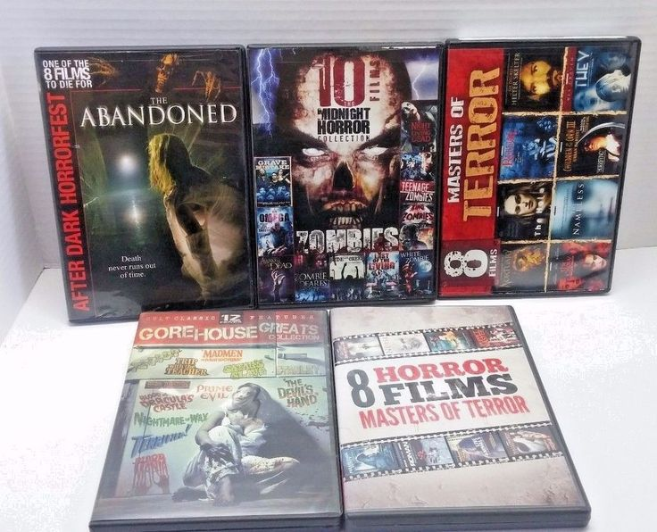 Masters of Terror Gore House Greats etc, 39 Movies on 10 Discs, Horror DVD Lot