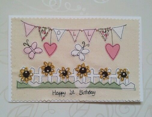 picket fence and bunting