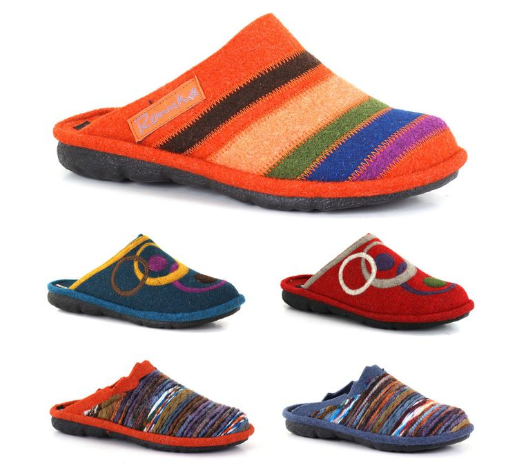 ROMIKA Shoes Model Mikado Slippers from Germany Many Colors Sizes NEW Cheap #Romika #SlipperShoes