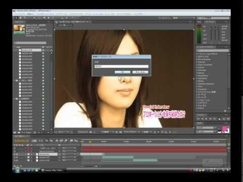 【Adobe After Effects CS4使い方講座】この講座ではAdobe社の映像編集ソフト  「Adobe After Effects CS4」の使い方を学習することができます。    モーショングラフィックス、ビジュアルエフェクトの定番ソフト「Adobe After Effects CS4 Professional」の使い方を解説していきます。新規プロジェクトの作成から、アニメーション、エフェクトの調整、レンダリングと幅広く学習していくことができます。