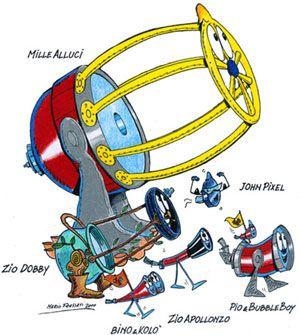 Speciale astronomia per bambini realizzato da Mario Frassati I nostri amici telescopi devono affrontare molte difficili prove per vincere le telescopiadi! Un libro per divertirsi e… far apprezzare l'astronomia anche ai ragazzi!