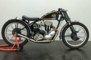 AJS Model 38/22 Racer 1938 350cc 1 cyl ohv