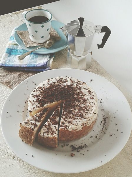 Frozen cheesecake with Baileys