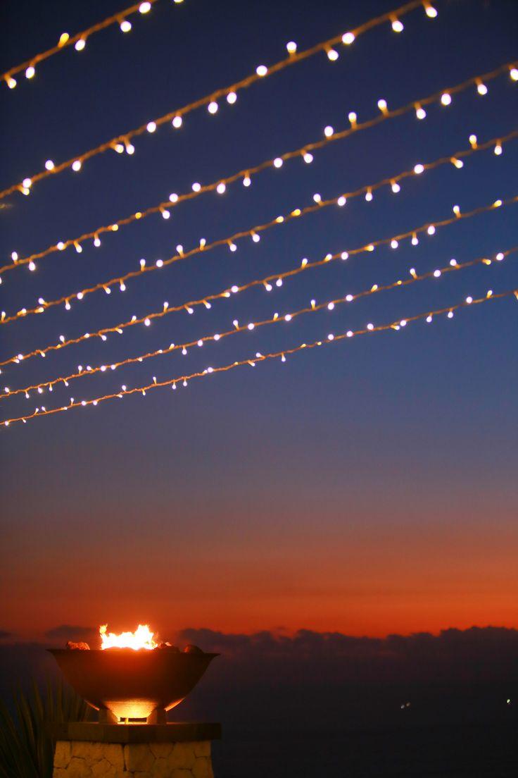 Fairy Lights glowing by Tirtha Bridal Uluwatu Bali