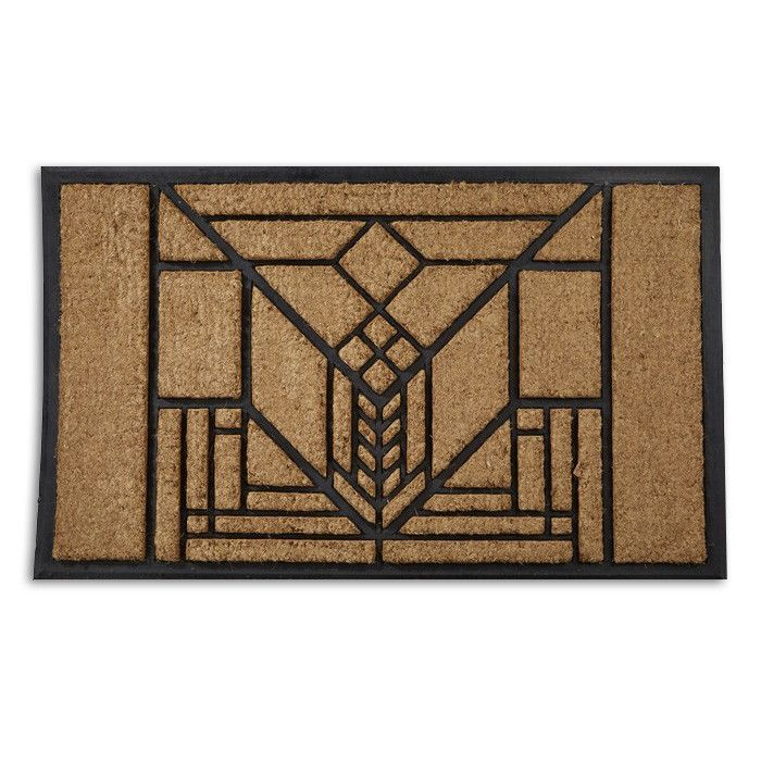 Frank Lloyd Wright Lake Geneva Doormat