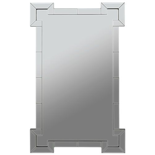Signa Layered Frameless Mirror Cooper Classics Frameless Mirrors Home Decor