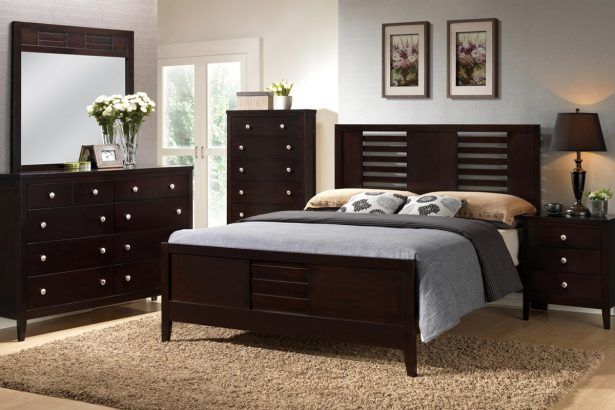 Brown Shag Area Rug Beige Wooden Laminate Floor Full Size Chocolate Modern Stained Solid Wood Platform Bed Table Lamp White Memory Foam Mattress Cream Decorative Pillow Drawer Dresser Mirror 30 Cool Futons And Accessories Ideas For Bedroom  Look Delightful