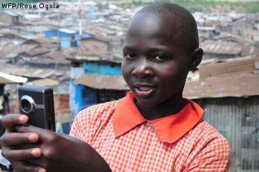 Meet Molly from Kenya! She films her life in a Nairobi slum (16 January 2012)
