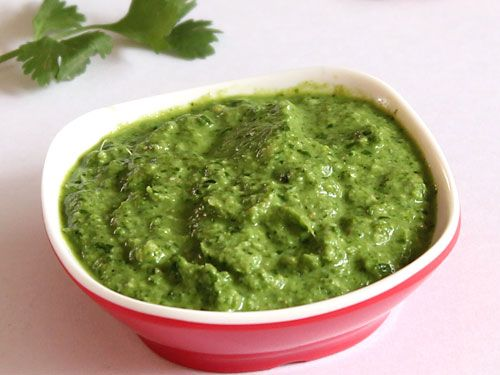 Green Cilantro Chutney