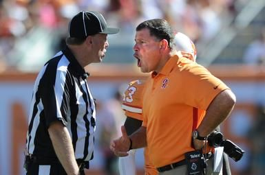 Greg Schiano and the Buccaneers long for the days of replacement refs