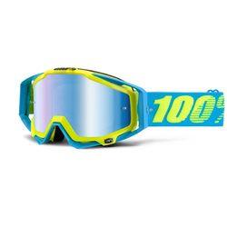 2015 100% Racecraft Motocross Goggles - Barbado Blue Mirror