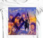 Giuffria Silk & Steel T-shirt 80's retro heavy glam metal cotton graphic tee