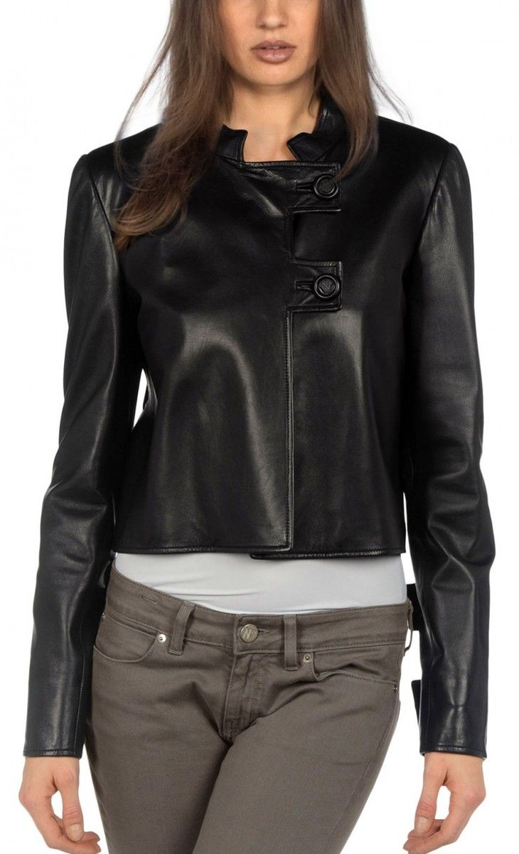 22 best Things to Wear images on Pinterest | Leather coats ...