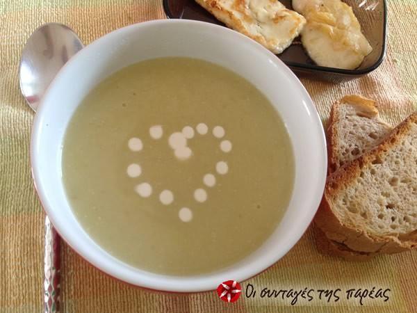 Leek velouté soup #cooklikegreeks #leeksoup #vegetables