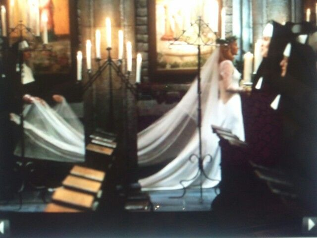 Sound Of Music Live Maria In Her Wedding Dress To Wed Captian George Von Trap
