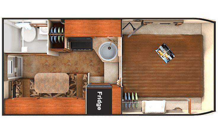 Lance 865 Truck Camper - (Should fit a short bed crew cab F15) With a layout similar to its larger siblings - you'll enjoy the spacious feel of this short bed truck camper.
