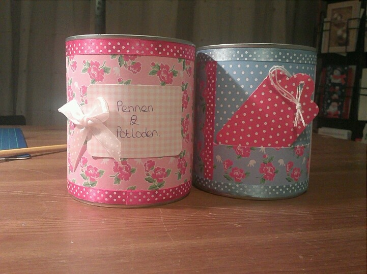 40 best images about recyclen van conservenblikken for Large tin can crafts