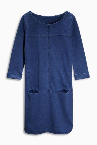 Платье цвета индиго - Покупайте прямо сейчас на сайте Next: Украина