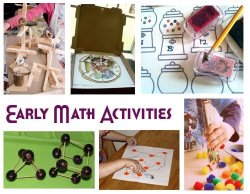 early math activities preschool