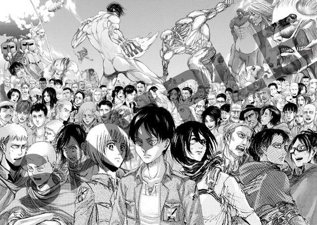 Crunchyroll Attack On Titan Final Exhibition Reveals Manga S 10th Anniversary Visual Attack On Titan New Art 10 Anniversary